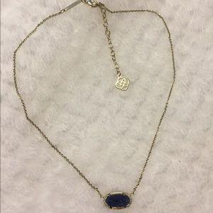 Kendra Scott blue necklace